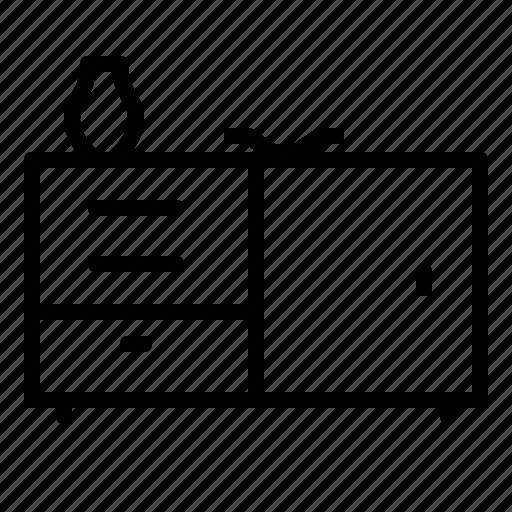 Cabinet, drawer, furniture, home, sideboard icon - Download on Iconfinder