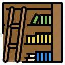 book, bookcase, bookshelf, furniture, library