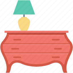 decoration, furniture, interior, living room, table icon