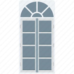 apartment window, furniture, home window, window, window frame icon