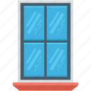 apartment window, furniture, home window, window, window frame