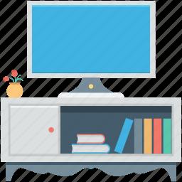 furniture, lcd, tv cupboard, tv lounge, tv trolley icon