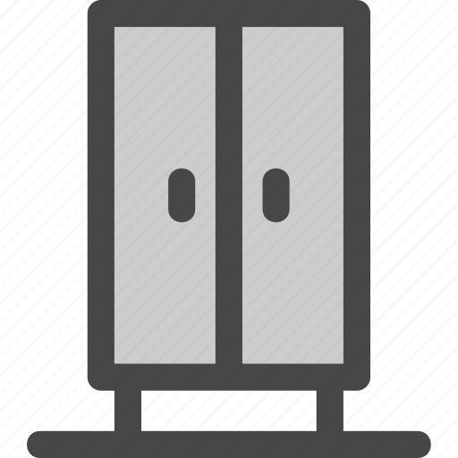 cabinet, clothes, doors, dresser, furniture, sideboard, storage icon