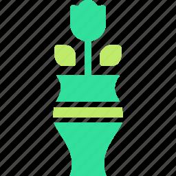 flower, pot, vase icon