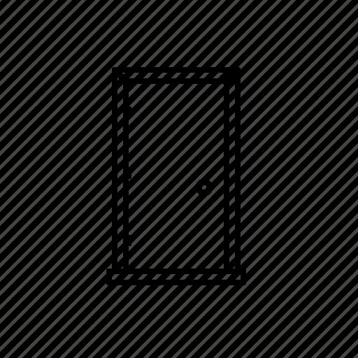 Door, enter, entry, handle, round icon - Download on Iconfinder