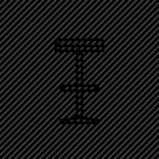 bar, chair, seat, sit, stool icon