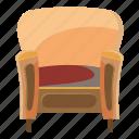 cartoon, chair, furniture, home, interior, trim, wood