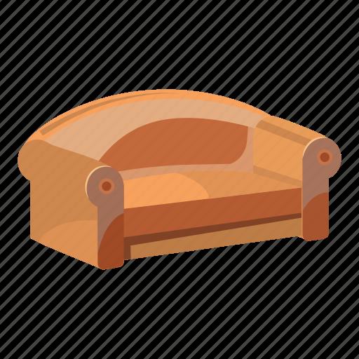 cartoon, furniture, home, living, room, sofa, soft icon