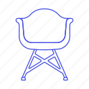 chair, chairs, furniture, green, modern, objects, sofas icon