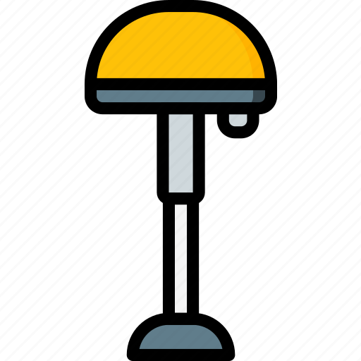 furniture, house, lamp, light icon