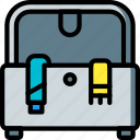 furniture, house, ottoman, storage icon