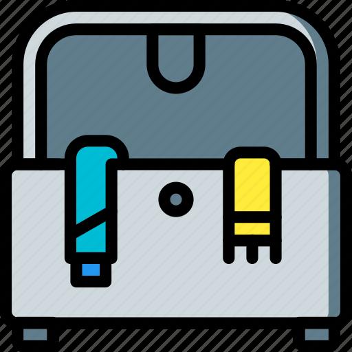 furniture, house, ottoman, storage icon