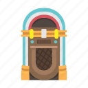 jukebox, karaoke, music, music box, music machine, sound icon