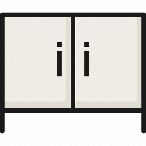 Cabinet, drawer, furniture, home, house, interior, room icon - Download on Iconfinder