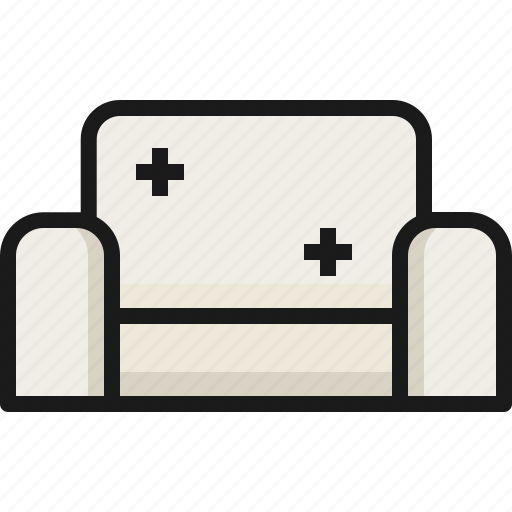 Couch, furniture, home, house, interior, room, sofa icon - Download on Iconfinder
