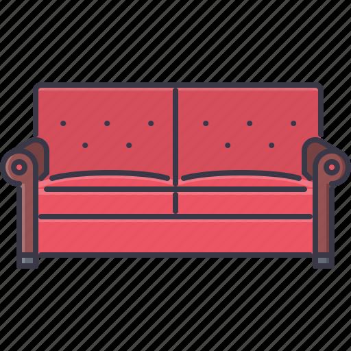 decoration, furniture, home, house, sofa icon