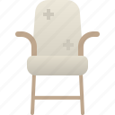 arm, chair, furniture, home, house, room, seat icon