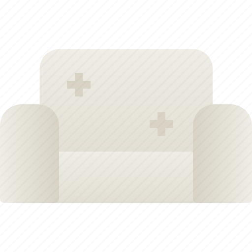 couch, furniture, home, house, room, seat, sofa icon
