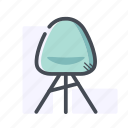 armchair, chair, furniture, home icon