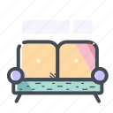 couch, furniture, interior, sofa