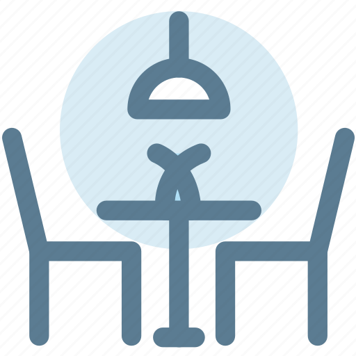 chairs, dining, dining table, furniture, household, interior, table icon