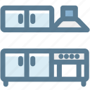 fume hood, furniture, household, kitchen, kitchen furniture, oven range icon