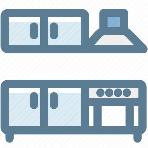 fume hood, furniture, household, kitchen, kitchen furniture, oven range icon