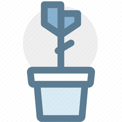 flower, furniture, household, housekeeping, nature, plant, potted plant icon