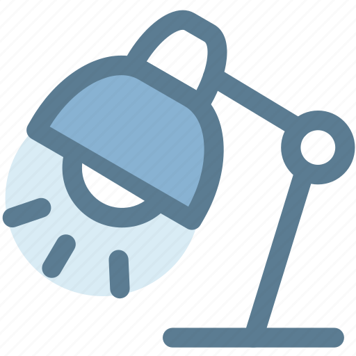 bulb, furniture, home, household, lamp, light icon