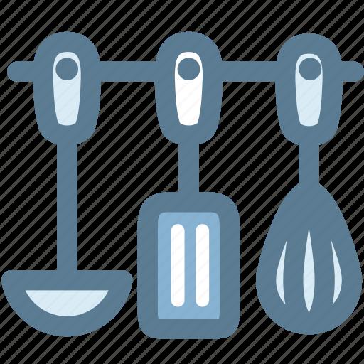 household, kitchen, kitchenware, ladle, spatula, tools, whisk icon