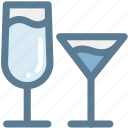 alcohol, beverage, cocktails, drink, drinks, glass, household icon