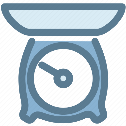 food, household, kitchen, kitchen scale, measure, scale, weight icon