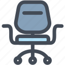 chair, furniture, household, manager, office, sit icon