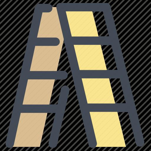 climb, furniture, height, household, ladder, step ladder, stepladder icon
