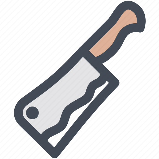 cleaver, cut, household, kitchenware, knife, knives, tool icon