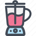blender, household, kitchen, liquidizer, mixer