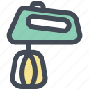 blender, cooking, hand mixer, household, kitchen, mixer icon