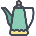 boiled, coffee, coffee pot, gooseneck kettle, household, pot icon