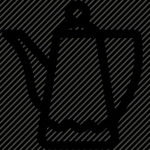 boiled, coffee, coffee pot, gooseneck kettle, household, pot icon