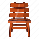 cartoon, chair, furniture, illustration, interior, object, sign icon