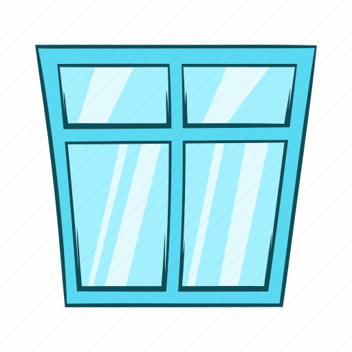 Cartoon, frame, house, interior, object, sign, window icon - Download on Iconfinder