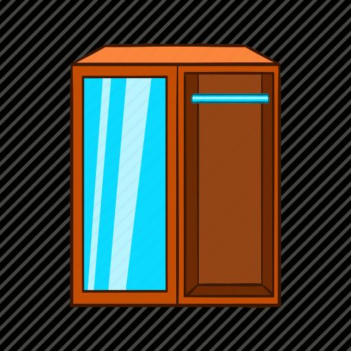 cartoon, dresser, furniture, interior, object, sign, wardrobe icon