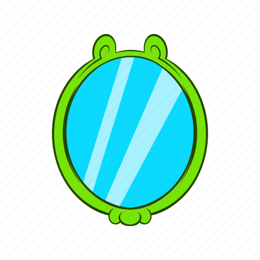 Cartoon, design, illustration, mirror, object, reflection, sign icon - Download on Iconfinder