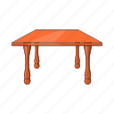 cartoon, design, furniture, illustration, object, sign, table icon