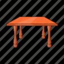 cartoon, design, furniture, illustration, object, sign, table