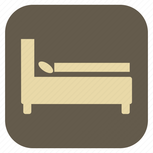 bed, double, furniture, interior icon