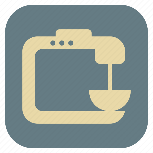 blender, furniture, interior icon