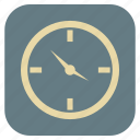 clock, furniture, interior icon