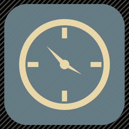 clock, furniture, interior icon