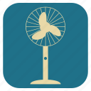 fan, furniture, interior, table icon